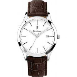 Pierre Lannier Zegarek 230C104. Szare zegarki męskie Pierre Lannier. W wyprzedaży za 529,00 zł.