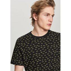 T-shirty męskie: T-shirt z motywem rowerów – Czarny