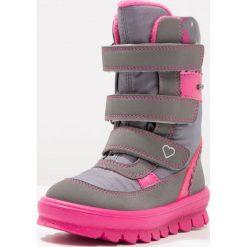 Superfit FLAVIA Śniegowce stone. Szare buty zimowe damskie marki Superfit, z materiału. W wyprzedaży za 186,45 zł.