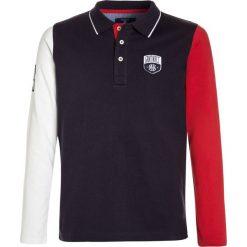 T-shirty chłopięce: GANT COLOR BLOCK RUGGER  Koszulka polo evening blue