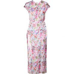 MALAIKARAISS DAISY Długa sukienka flower print. Różowe długie sukienki marki MALAIKARAISS, m, z materiału, wizytowe, z długim rękawem. W wyprzedaży za 661,05 zł.