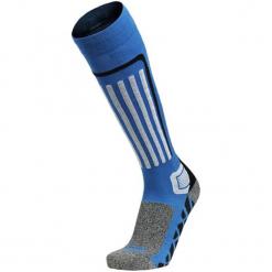 Skarpety w kolorze niebiesko-szarym. Niebieskie skarpetki męskie marki Quiksilver, z materiału, sportowe. W wyprzedaży za 32,95 zł.