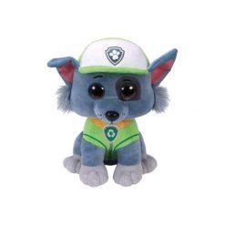 Maskotka TY INC Beanie Babies Rocky - Psi Patrol 24 cm 96323. Niebieskie przytulanki i maskotki marki TY INC. Za 49,99 zł.