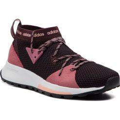 Buty adidas - Quesa BB7343 Ngtred/Tramar/Cleora. Niebieskie buty do biegania damskie marki Salomon, z gore-texu, na sznurówki, gore-tex. Za 329,00 zł.