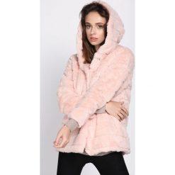 Różowa Kurtka Hugger. Brązowe kurtki damskie pikowane marki QUECHUA, na zimę, m, z materiału. Za 149,99 zł.