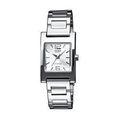 Zegarek Casio damski Sewora Quartz srebrny (LTP-1283D-7AEF). Szare zegarki damskie CASIO, srebrne. Za 144,00 zł.