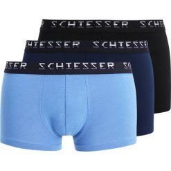 Bokserki męskie: Schiesser HIPSHORTS 3 PACK Panty dark blue