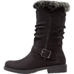 Anna Field Kozaki black. Czarne buty zimowe damskie marki Anna Field, z materiału. W wyprzedaży za 135,20 zł.