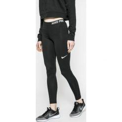 Nike - Legginsy. Szare legginsy sportowe damskie Nike, l, z dzianiny, dri-fit (nike). W wyprzedaży za 139,90 zł.