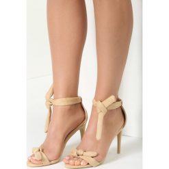 Sandały damskie: Beżowe Sandały Turquoise