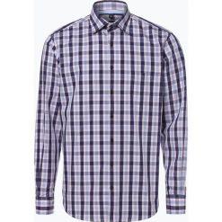 Koszule męskie na spinki: Andrew James – Koszula męska łatwa w prasowaniu, niebieski
