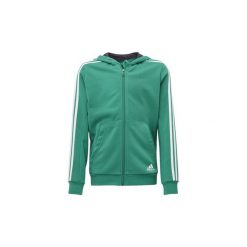 Bluzy dresowe Dziecko adidas  Bluza z kapturem Essentials 3-Stripes. Czarne bluzy chłopięce rozpinane marki Nike. Za 139,30 zł.