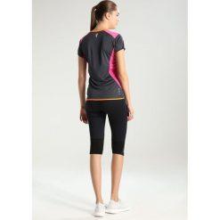CMP WOMAN TRAIL Tshirt z nadrukiem asphalt/hot pink. Czerwone topy sportowe damskie marki CMP, z materiału. Za 129,00 zł.