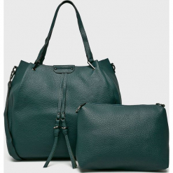 Medicine - Torebka Basic. Szare torebki klasyczne damskie marki MEDICINE, w paski, z materiału, duże. Za 149,90 zł.