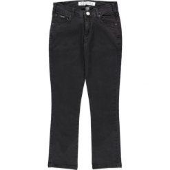 """Chinosy chłopięce: Dżinsy """"Strummer"""" - Regular fit - w kolorze czarnym"""