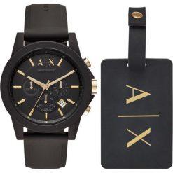 Armani Exchange - Zegarek AX7105. Czarne zegarki męskie marki Armani Exchange, l, z materiału, z kapturem. Za 769,90 zł.