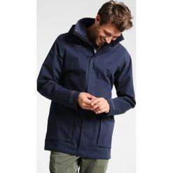 Bergans SYVDE  Kurtka hardshell dark navy/night blue. Niebieskie kurtki trekkingowe męskie Bergans, m, z bawełny. W wyprzedaży za 786,75 zł.