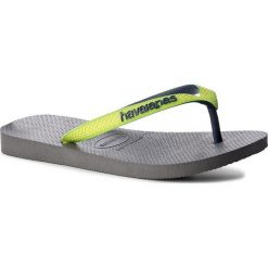 Chodaki damskie: Japonki HAVAIANAS - Top Mix 41155499629  Steel Grey/Led Ye