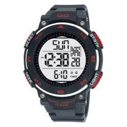 Biżuteria i zegarki męskie: Zegarek Q&Q Męski M124-001 Metronom czarny