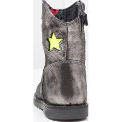 Botki damskie lity: Shoesme SILOUET Botki kowbojki i motocyklowe silver