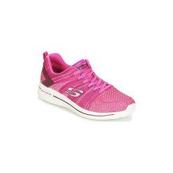 Fitness buty Skechers  BURST 2.1. Czerwone buty do fitnessu damskie marki KALENJI, z gumy. Za 247,20 zł.