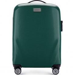 Walizka mała 56-3P-571-85. Zielone walizki marki Wittchen, z gumy, małe. Za 219,00 zł.