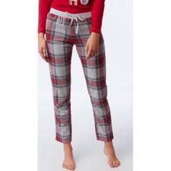 Etam - Spodnie piżamowe 650147502. Szare piżamy damskie Etam, l, z bawełny. Za 119,90 zł.