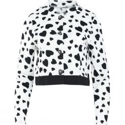 Biała Bluza Broke The Heart. Białe bluzy damskie Born2be, l. Za 29,99 zł.