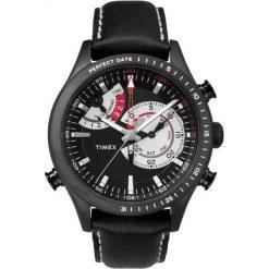 Zegarek Timex Męski TW2P72600 IQ Perfect Date czarny. Czarne zegarki męskie Timex. Za 544,99 zł.
