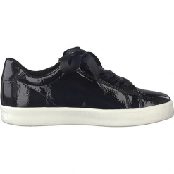 Sneakersy w kolorze granatowym. Szare sneakersy damskie marki Marco Tozzi. W wyprzedaży za 104,95 zł.