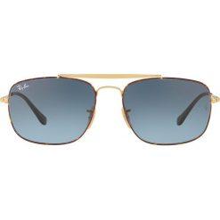 Ray-Ban - Okulary. Szare okulary przeciwsłoneczne męskie wayfarery marki Ray-Ban, z materiału. Za 599,90 zł.