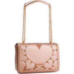 Torebka LOVE MOSCHINO - JC4046PP16LH0905  Rame. Czerwone torebki klasyczne damskie marki Love Moschino, ze skóry ekologicznej, duże. W wyprzedaży za 669,00 zł.