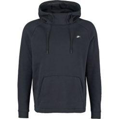 Bejsbolówki męskie: Nike Sportswear MODERN BRUSHED Bluza z kapturem black