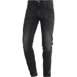 Spodnie męskie: Lee LUKE Jeansy Slim Fit black trashed
