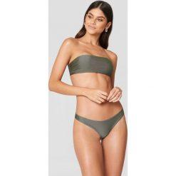 Stroje dwuczęściowe damskie: FAYT Dół od bikini Beau - Green