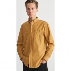 Koszula regular fit - Żółty. Niebieskie koszule męskie marki Reserved. Za 159,99 zł.