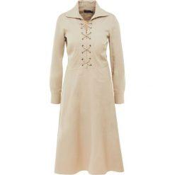 Polo Ralph Lauren Sukienka letnia coastal beige. Czarne sukienki letnie marki Polo Ralph Lauren, polo. W wyprzedaży za 419,60 zł.