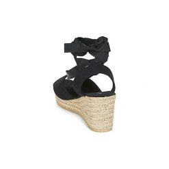 Sandały Vero Moda  SALLY WEDGE SANDAL. Czarne rzymianki damskie Vero Moda. Za 143,20 zł.