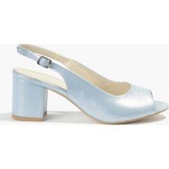 Sandały niebieskie Jasmin. Niebieskie sandały damskie Badura. Za 135,99 zł.