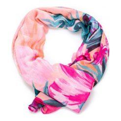 Desigual Chusta Damska Wielokolorowy Malibu Rectangle. Różowe chusty damskie Desigual. W wyprzedaży za 119,00 zł.