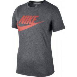 Bluzki sportowe damskie: Nike Koszulka Damska W Nsw Essntl Tee Hbr Carbon Heather Anthracite Crimson Pulse Xs