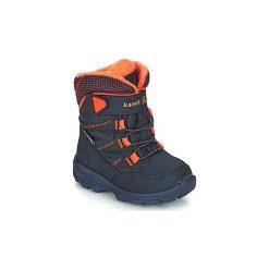 Śniegowce Dziecko KAMIK  STANCE. Niebieskie buty zimowe chłopięce marki Kamik. Za 279,00 zł.