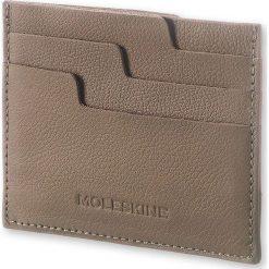 Plecaki męskie: Etui na karty Moleskine Card Wallet Lineage taupe
