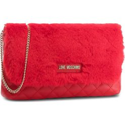 Torebka LOVE MOSCHINO - JC4300PP06KP150A  Rosso. Czerwone torebki klasyczne damskie marki Love Moschino, z materiału. W wyprzedaży za 339,00 zł.