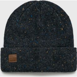 Quiksilver - Czapka. Czarne czapki zimowe męskie Quiksilver, na zimę, z dzianiny. Za 129,90 zł.