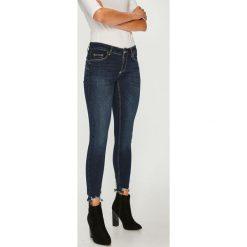 Liu Jo - Jeansy Bottom Up. Niebieskie jeansy damskie rurki marki Liu Jo, z bawełny. Za 599,90 zł.