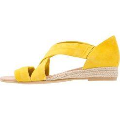 Rzymianki damskie: Office HALLIE Sandały na koturnie yellow