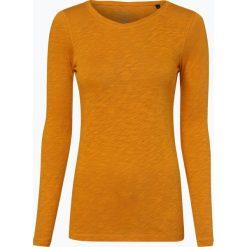 Marc O'Polo - Damska koszulka z długim rękawem, żółty. Żółte t-shirty damskie Marc O'Polo, l, z dżerseju, polo. Za 119,95 zł.