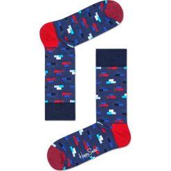 Happy Socks - Skarpety Brick. Niebieskie skarpetki męskie Happy Socks. W wyprzedaży za 27,90 zł.