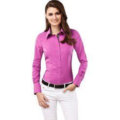Bluzki damskie: Bluzka w kolorze fioletowym